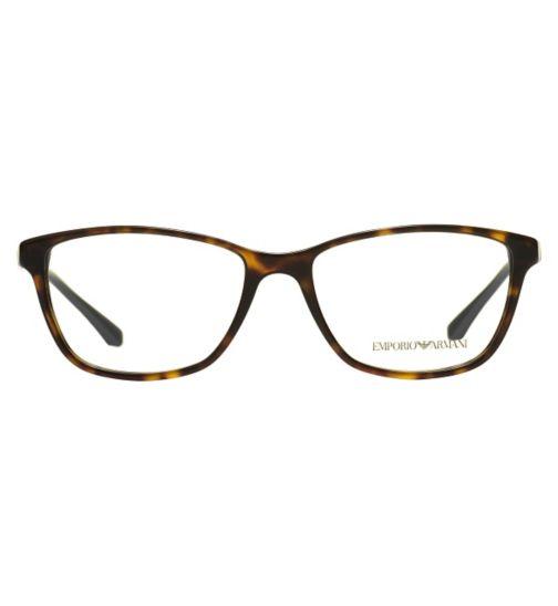 Emporio Armani EA3099 Women's Glasses - Havana