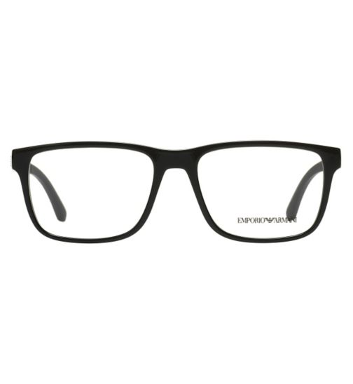 Emporio Armani EA3103 Men's Glasses - Black