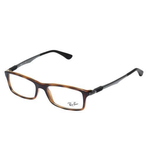 Ray-Ban RB7017 Men's Glasses - Havana
