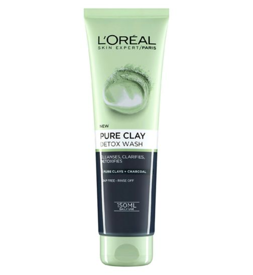 L'Oreal Paris Pure Clay Foam Wash Black 150ml