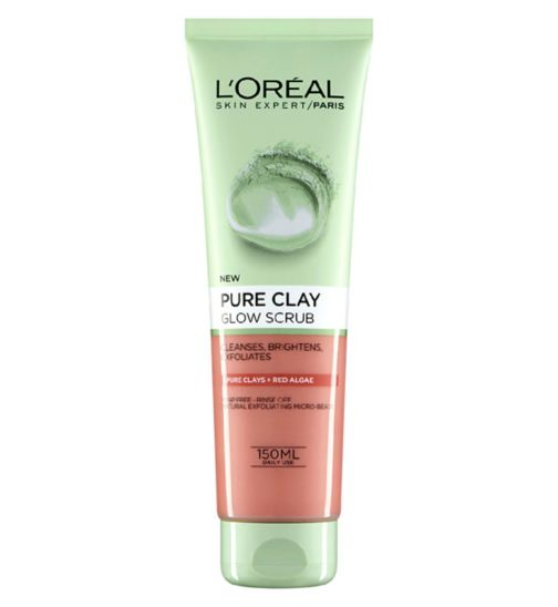 L'Oreal Paris Pure Clay Foam Wash Red 150ml