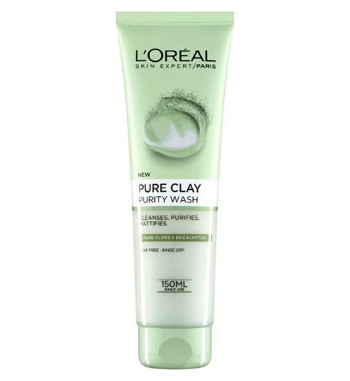 L'Oreal Paris Pure Clay Foam Wash Green 150ml