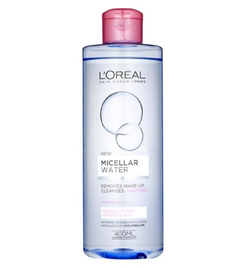 L'Oreal Paris Skin Expert Micellar Water Normal to Dry Skin 400ml