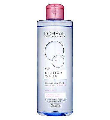 l'oreal paris micellar water cleanser sensitive skin400ml