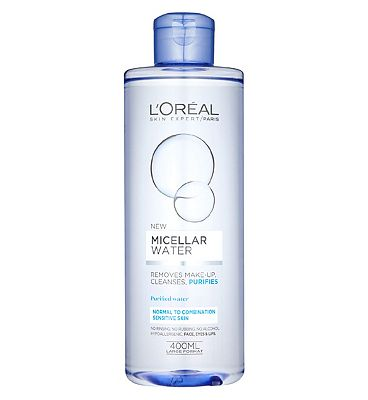 l'oreal paris micellar water cleanser combination skin400ml