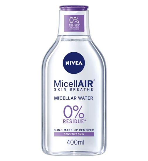 Nivea Daily Essentials 3 in 1 Sensitive Caring Micellar Water 400ml