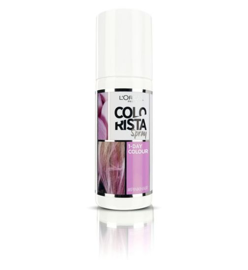 L'Oreal Paris Colorista Spray Pink Hair