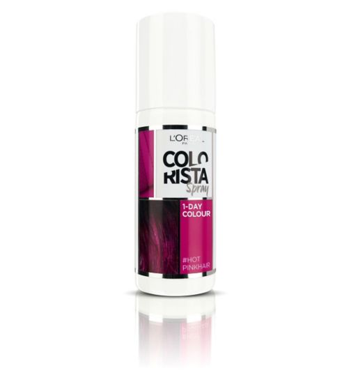 L'Oreal Paris Colorista Spray Hot Pink Hair