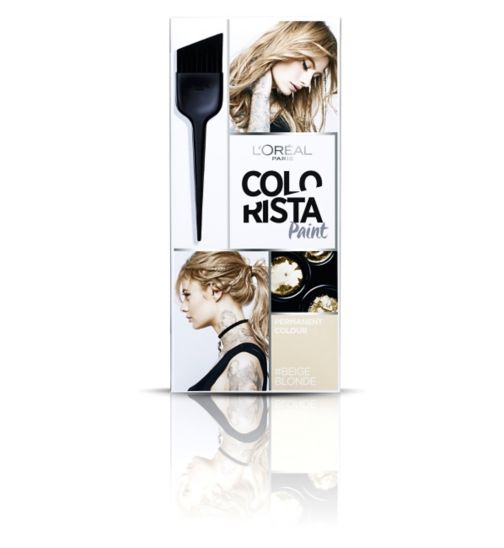 L'Oréal Paris Colorista Paint Beige Blonde Hair