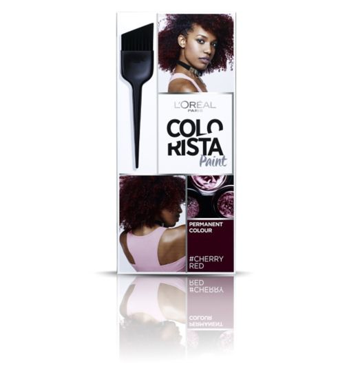L'Oréal Paris Colorista Paint Cherry Red Hair