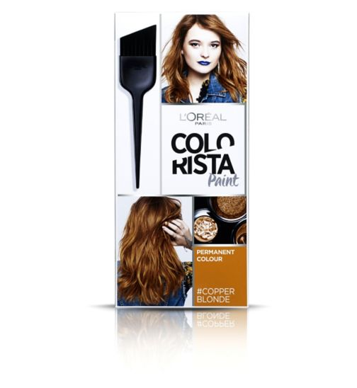 L'Oreal Paris Colorista Paint Copper Blonde Hair