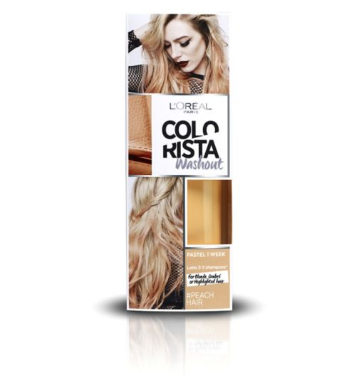 L'Oréal Paris Colorista Washout Peach Hair