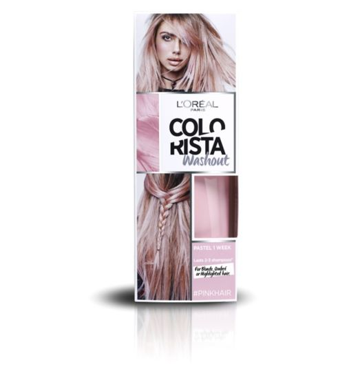 L'Oreal Paris Colorista Washout Pink Hair