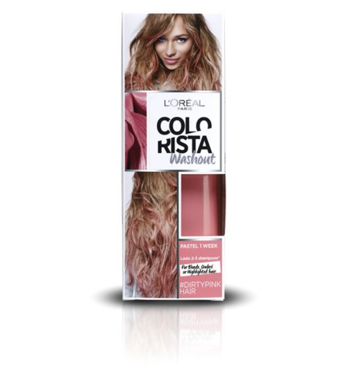 L'Oreal Paris Colorista Washout Dirty Pink