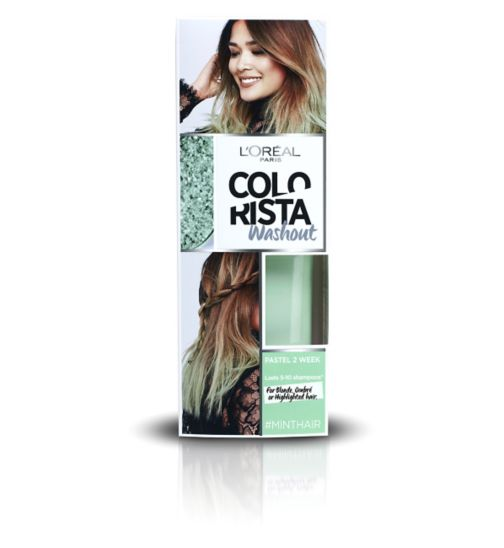 L'Oreal Paris Colorista Washout Mint Hair