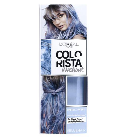 L'Oreal Paris Colorista Washout Blue Hair