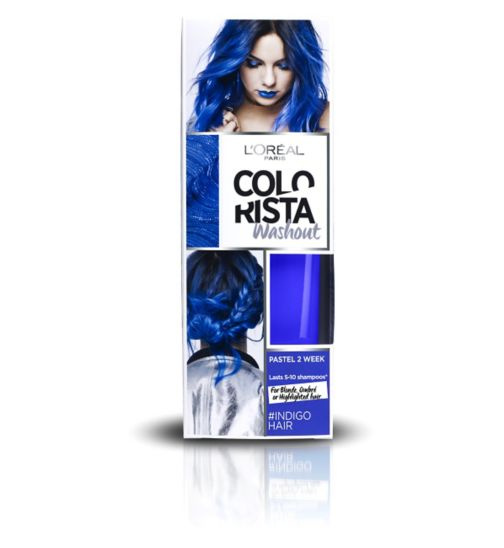 L'Oreal Paris Colorista Washout Indigo Hair