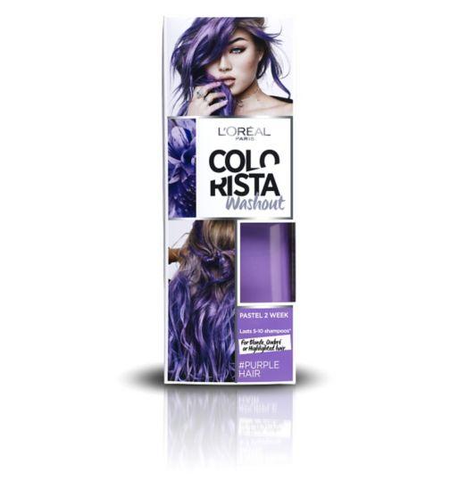 L'Oreal Paris Colorista Washout Purple Hair