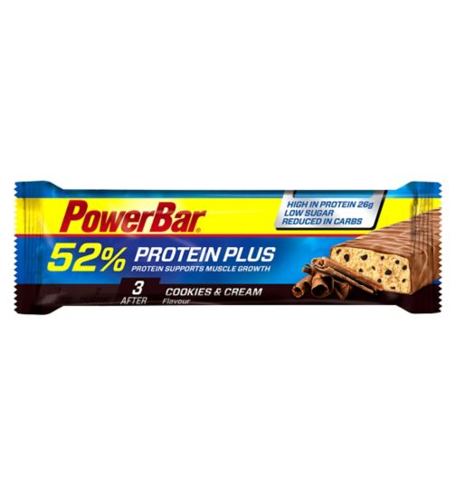 PowerBar Protein+ Cookies & Cream Flavour - 50g