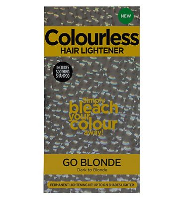 Colourless Hair Lightener Go Blonde