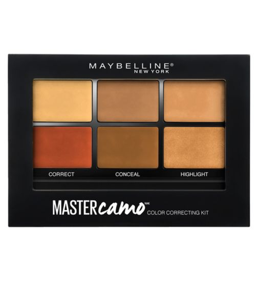 Maybelline FaceStudio Master Camo Correcting Kit Dark
