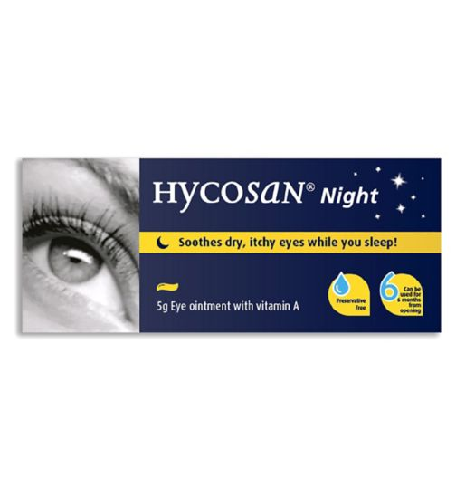 Hycosan Night Eye Ointment - 5g