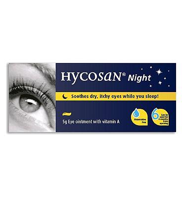 Hycosan Night Eye Ointment - 5g