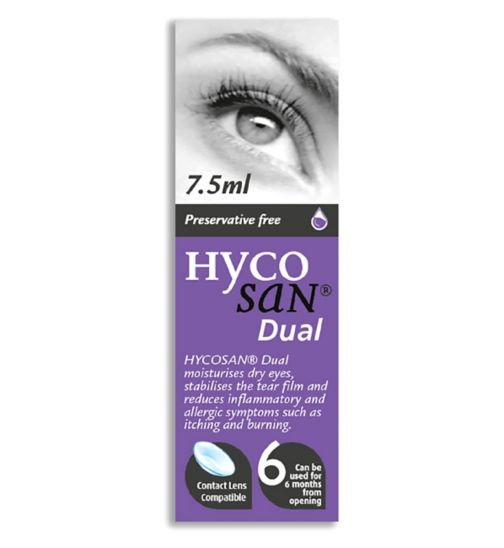 Hycosan Dual Lubricating Eye Drops - 10ml