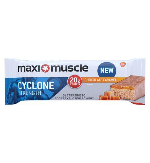 Maximuscle cyclone protein bar - Chocolate caramel 60g