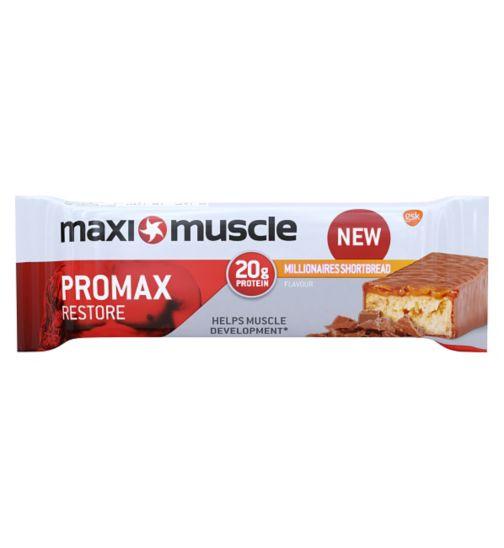 Maximuscle cyclone bar - millionaire shortbread 60g
