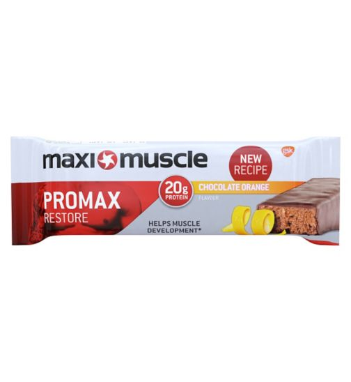 Maximuscle Promax protein bar - chocolate orange 60g