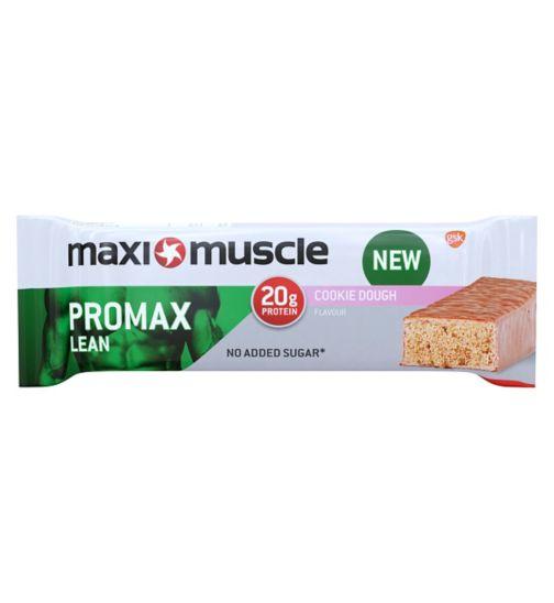 Maximuscle Promax lean protein bar - cookie dough  60g