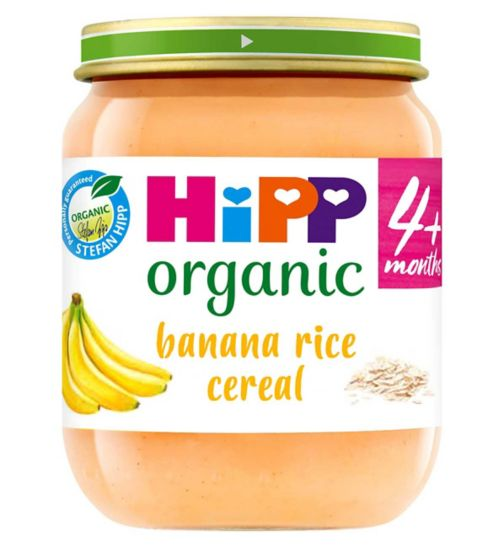 HiPP Organic Banana Rice Breakfast 4+ Months 125g