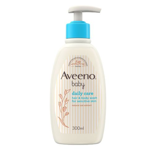 Aveeno Baby Daily Care Baby Hair & Body Wash 300ml