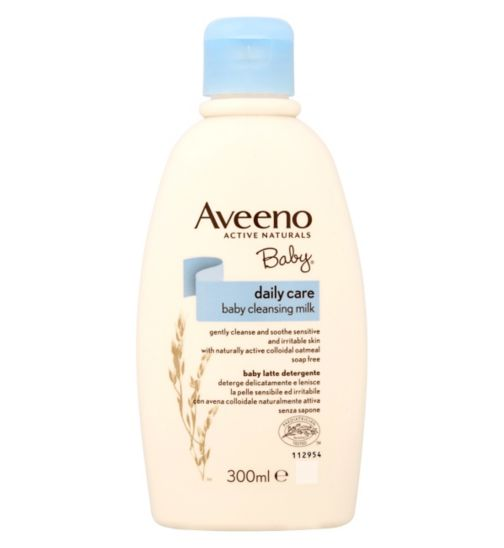 Aveeno Baby Daily Care Baby Cleansing Milk 300ml
