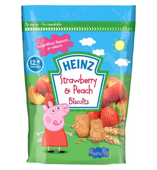 Heinz Eat and Play peppa pig biscuits