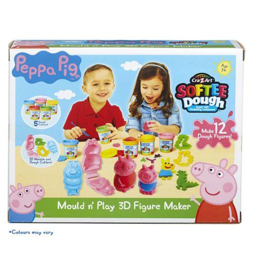 Peppa Pig Mould N Play 3D Figure Maker