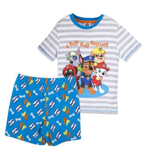 Mini Club Boys Short Pyjamas Paw Patrol
