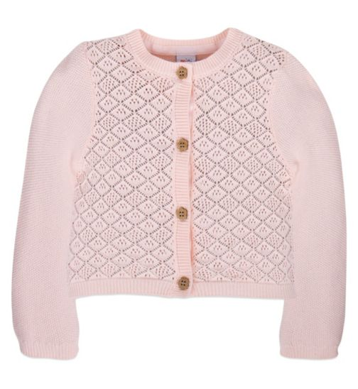 Mini Club Girls Cardigan Pale Pink