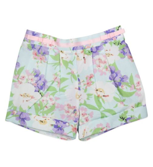 Mini Club Girls All Dressed Up Floral Short