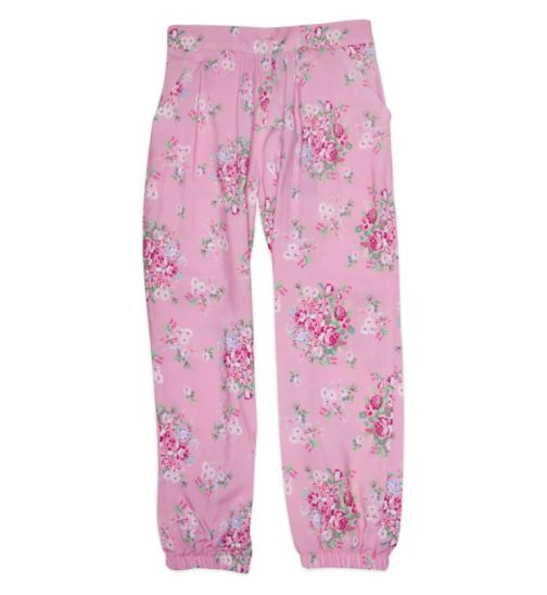 Mini Club Mini Club Girls Trouser Pink Floral