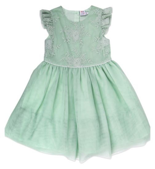 Mini Club Girls Dress Mint Lace