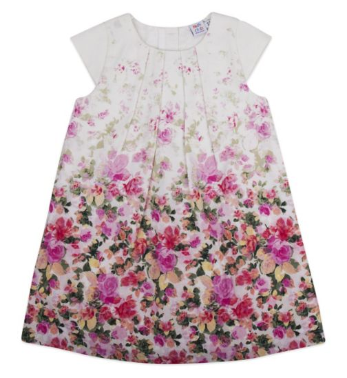 Mini Club Girls Short Sleeve Dress Floral