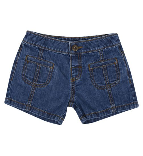 Mini Club Girls Shorts Denim Blue