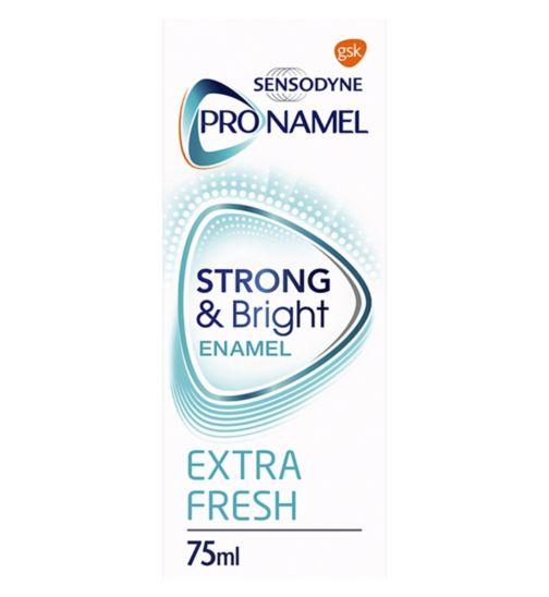 Sensodyne Pronamel Enamel Care Toothpaste Strong & Bright Enamel 75ml