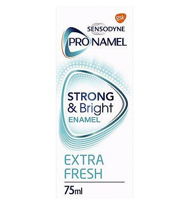 Sensodyne Pronamel Enamel Care Toothpaste Strong & Bright 75ml