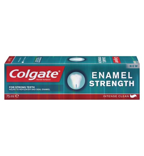 Colgate Enamel Strength Intense Clean Fluoride Toothpaste 75ml