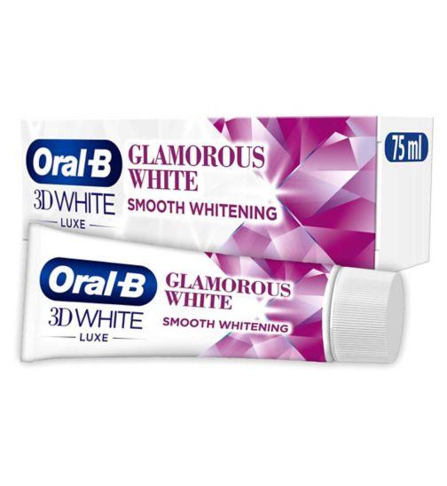 Oral-B 3D White Luxe Glamorous White Toothpaste 75ml