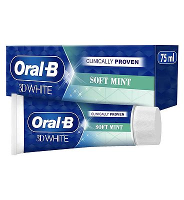 Oral-B 3D White Soft Mint Toothpaste 75ml