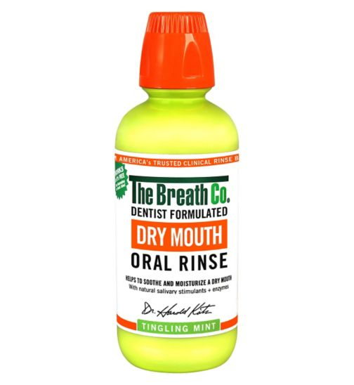 The Breath Co Mouth Oral Rinse Tingling Mint – 500ml